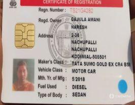 2018 Tata Sumo Gold EX
