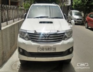 2012 Toyota Fortuner 4x2 4 Speed AT TRD Sportivo