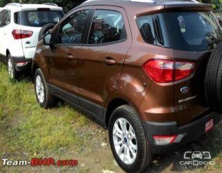 2015 Ford Ecosport 1.5 DV5 MT Titanium Optional