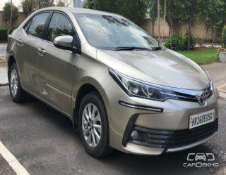 2017 Toyota Corolla Altis G MT