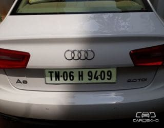 2012 Audi A6 2011-2015 2.0 TDI