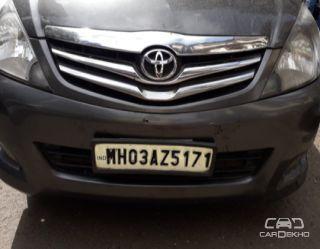 2011 Toyota Innova 2.5 GX (Diesel) 8 Seater BS IV