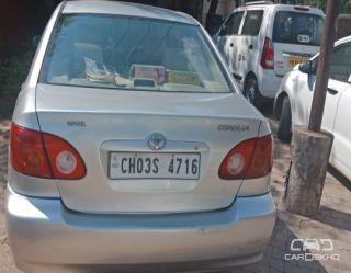 2005 Toyota Corolla H2