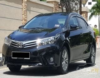2015 Toyota Corolla Altis 1.8 Limited Edition