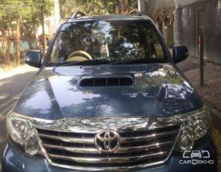 2012 Toyota Fortuner 4x2 Manual